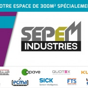 Stand SERAAP SEPEM industries Angers
