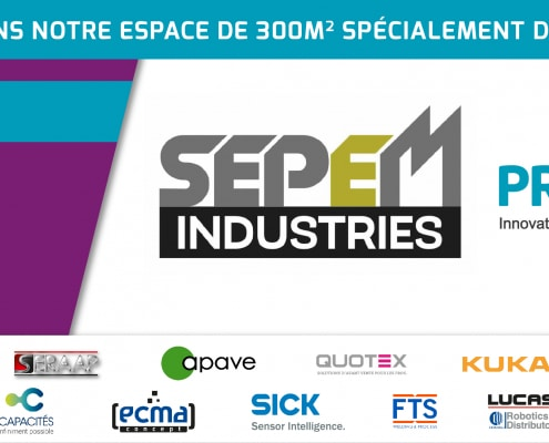 Stand SERAAP SEPEM industries Angers