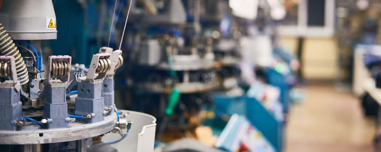 Machine spéciale confection textile